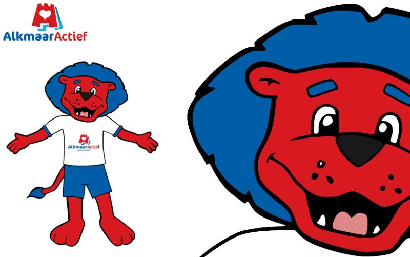 Mascotte Ontwerp Alkmaar Actief Freddy Fit door Promo Bears
