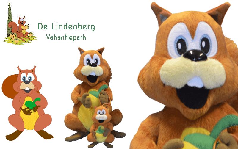 Knuffels laten maken - Voorbeeld Eddy van vakantiepark de Lindenberg -Promo Bears-