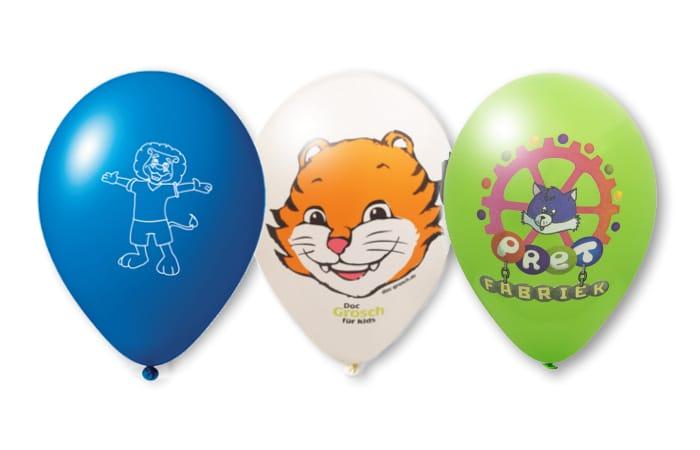 Mascotte ballonnen op maat gemaakt door Promo Bears