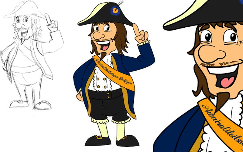 Admiraliteits Dagen - Character Design -Promo Bears-