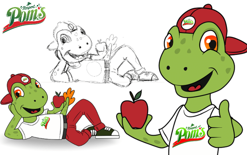 Pom´s - Character Design -Promo Bears-