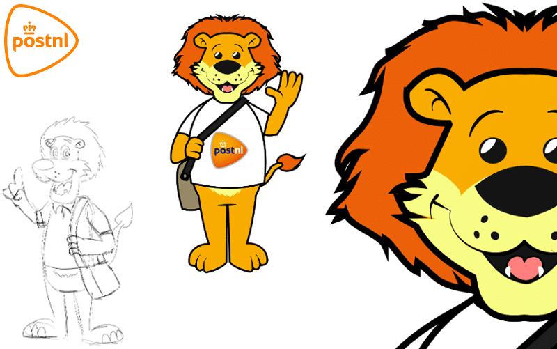 Post NL - Character Desgin -Promo Bears-