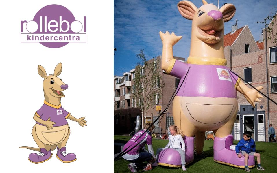 Grote Inflatables op maat gemaakt door Promo Bears