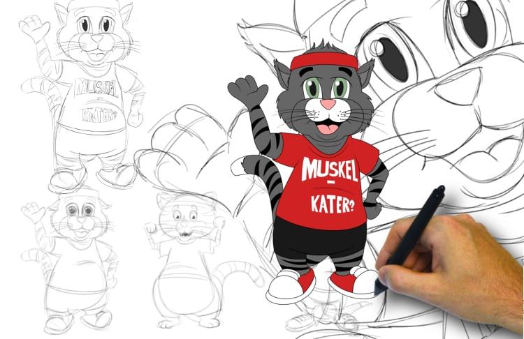 Mascotte laten ontwerpen door Promo Bears