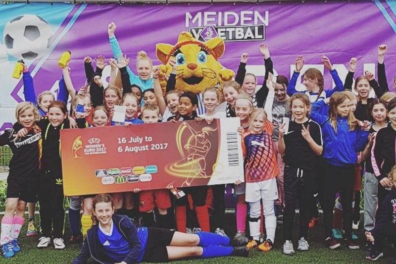 Referentie Project Kicky voor EK Vrouwen WEURO 2017 KNVB