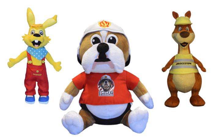 Knuffels van uw mascotte laten maken -Promo-Bears-