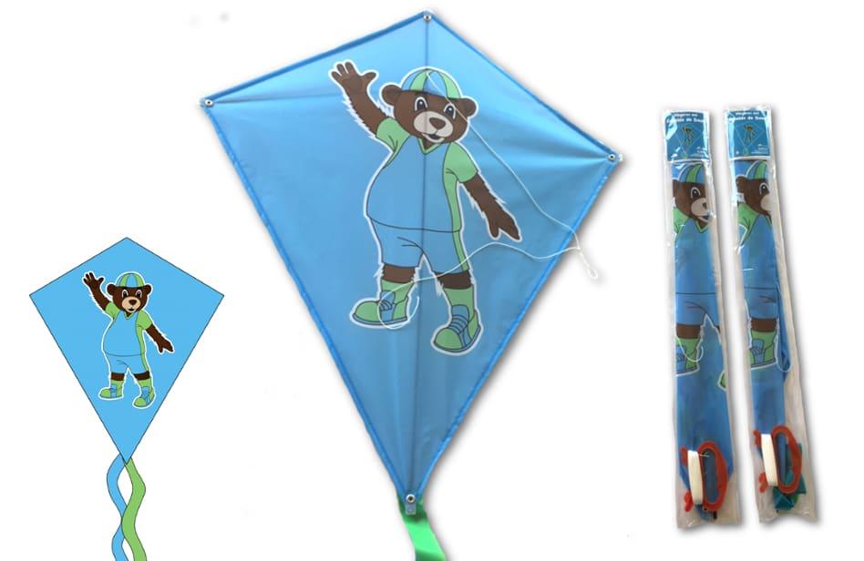 Vliegers laten bedrukken door Promo Bears