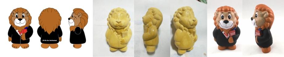 Stressballen op maat Ontwerp Kleimal en Prototype -Promo Bears-