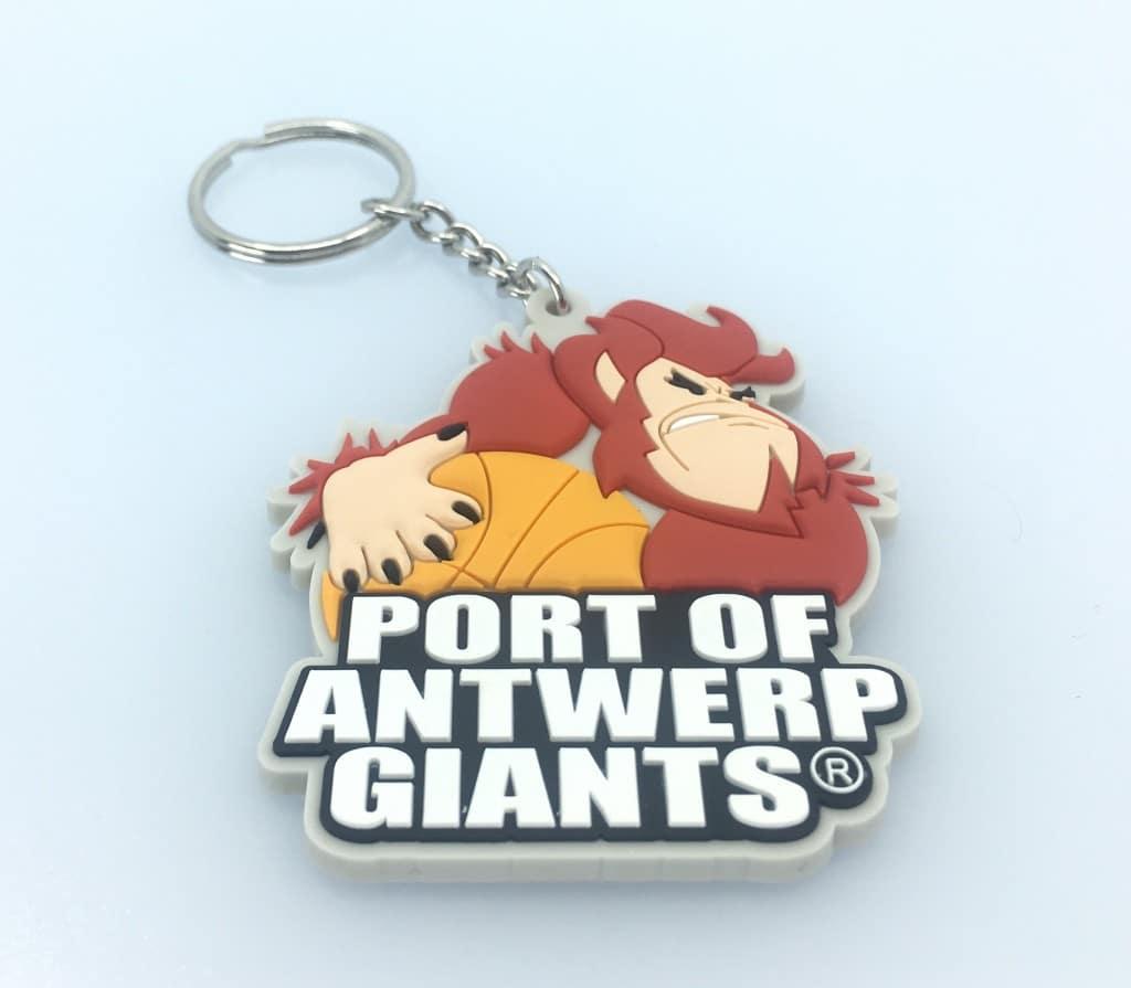 Antwerp Giants Sleutelhangers gemaakt door Promo Bears